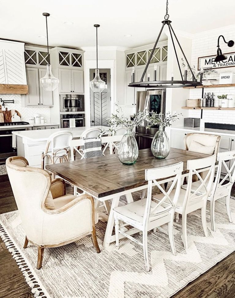 How Amazing Is This Kitchen By Ourfauxfarmhouse Featuring Our