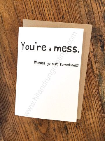 Card #163:  Mess ...