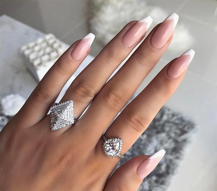 15 cool french manicure ideas to wear now manicure ideas 15 cool french manicure ideas urmus Image collections
