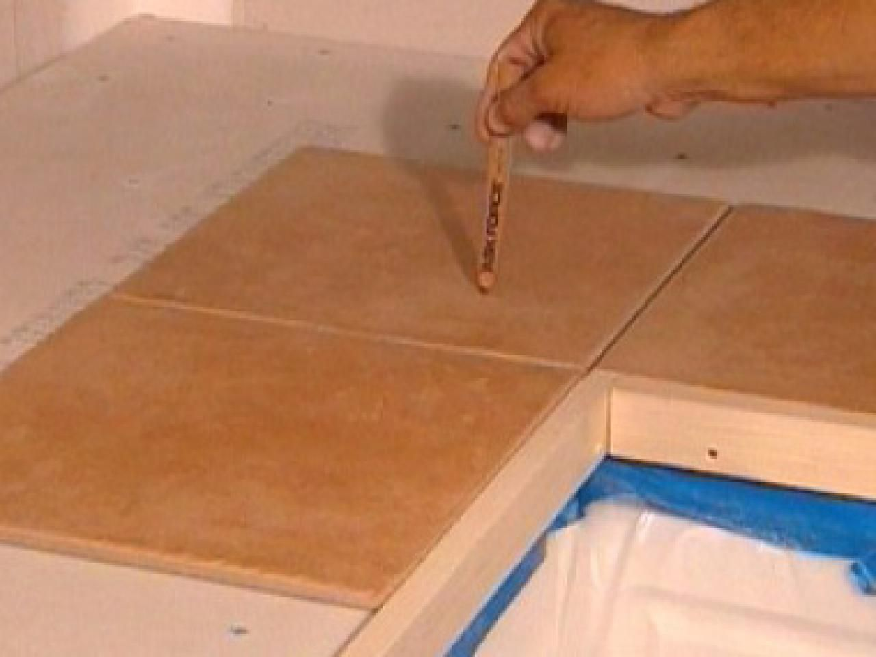 How To Install Tiles On A Kitchen Countertop Countertop And Kitchens