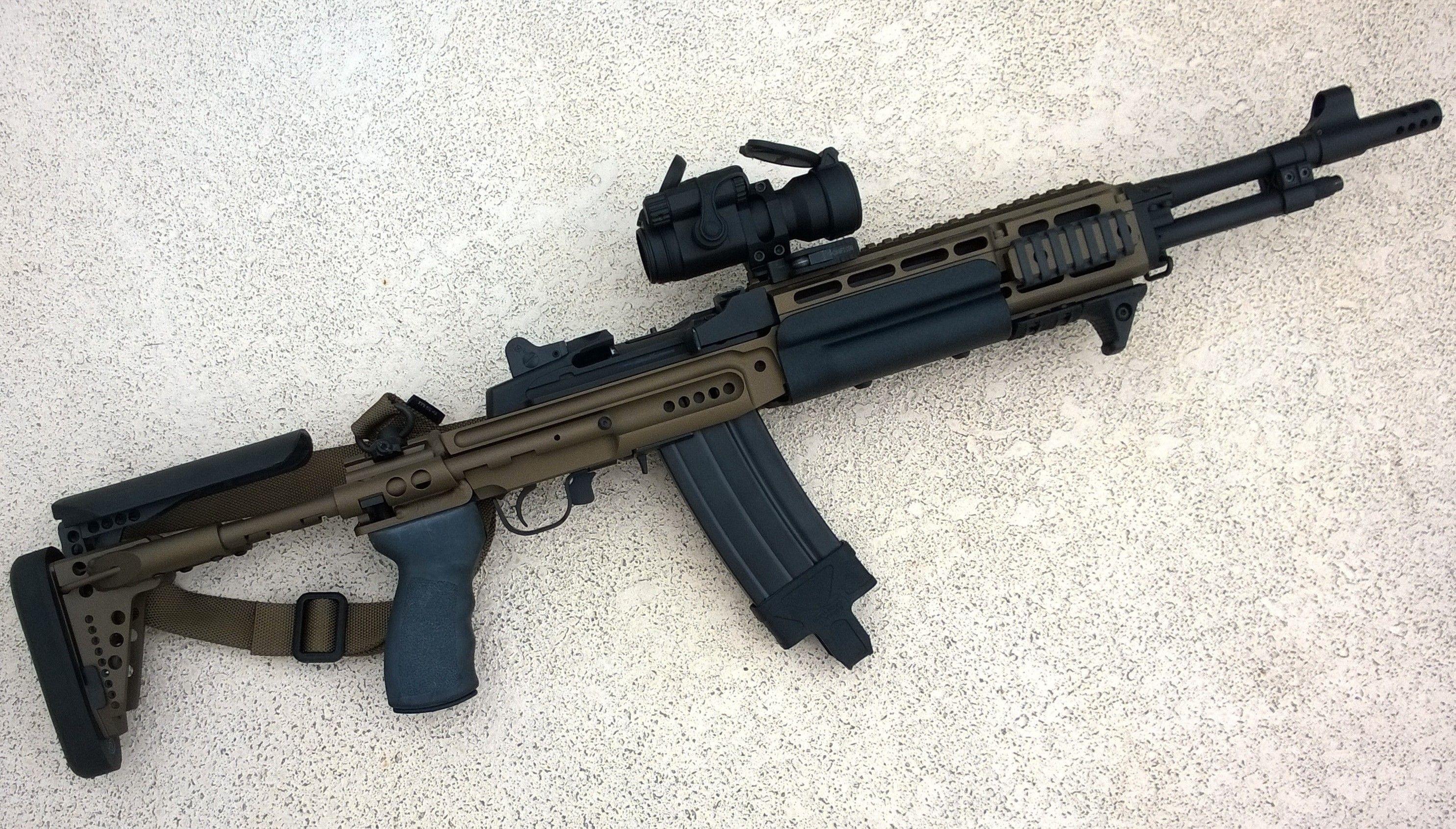 Mini 14 Sage Stock Firearms Guns Firearms Weapons
