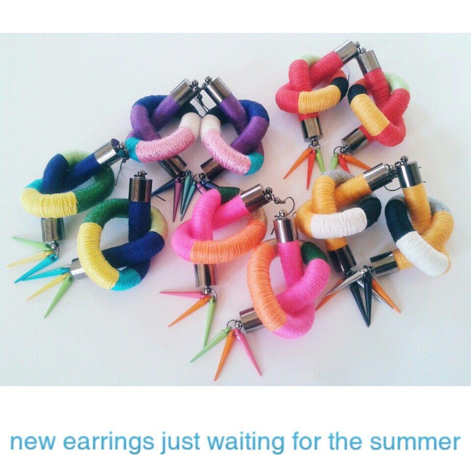 New rope earrings #kiafilstudios