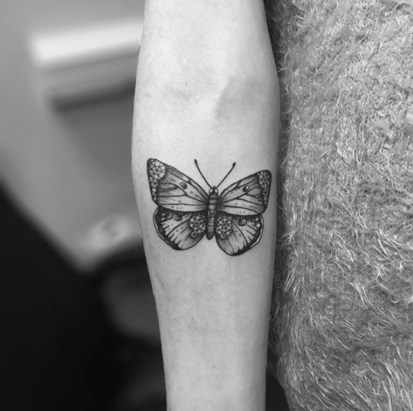 f4cdcede1 28 Beautiful Black and Grey Butterfly Tattoos | — Tattoos ON Men ...