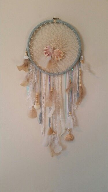 Seaside dreamcatcher by Katies Creations