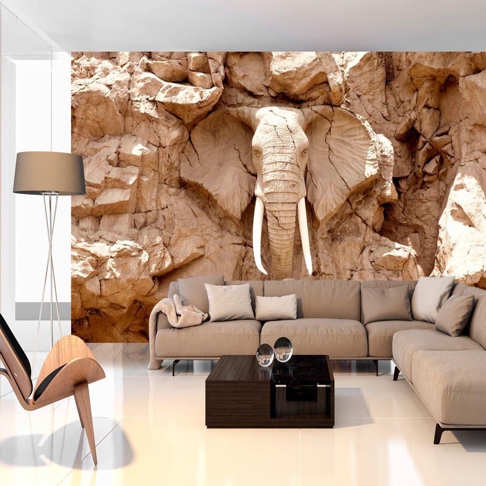 Wallpaper Stone Elephant South Africa Elephant Wallpaper Mural Wallpaper Wall Wallpaper