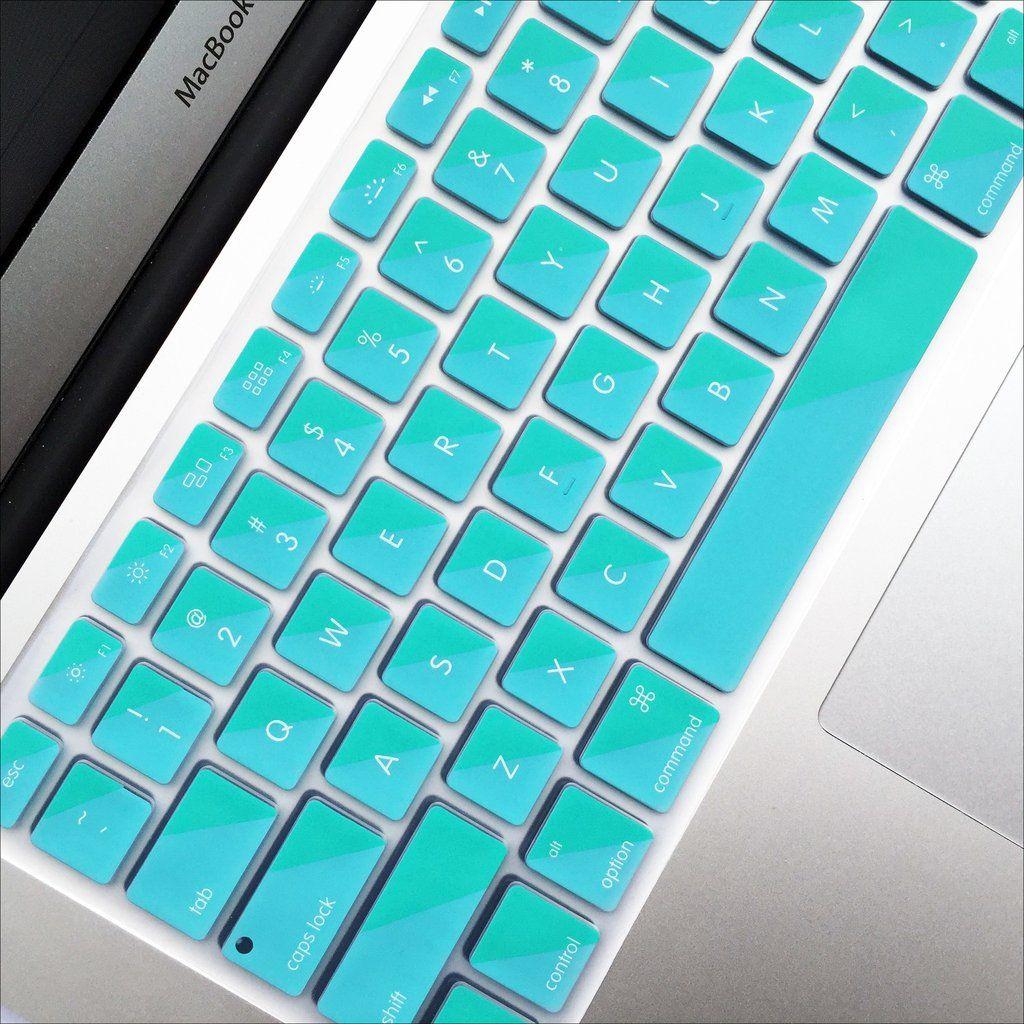 Macbook Keyboard Cover Cool Teal Macbook keyboard