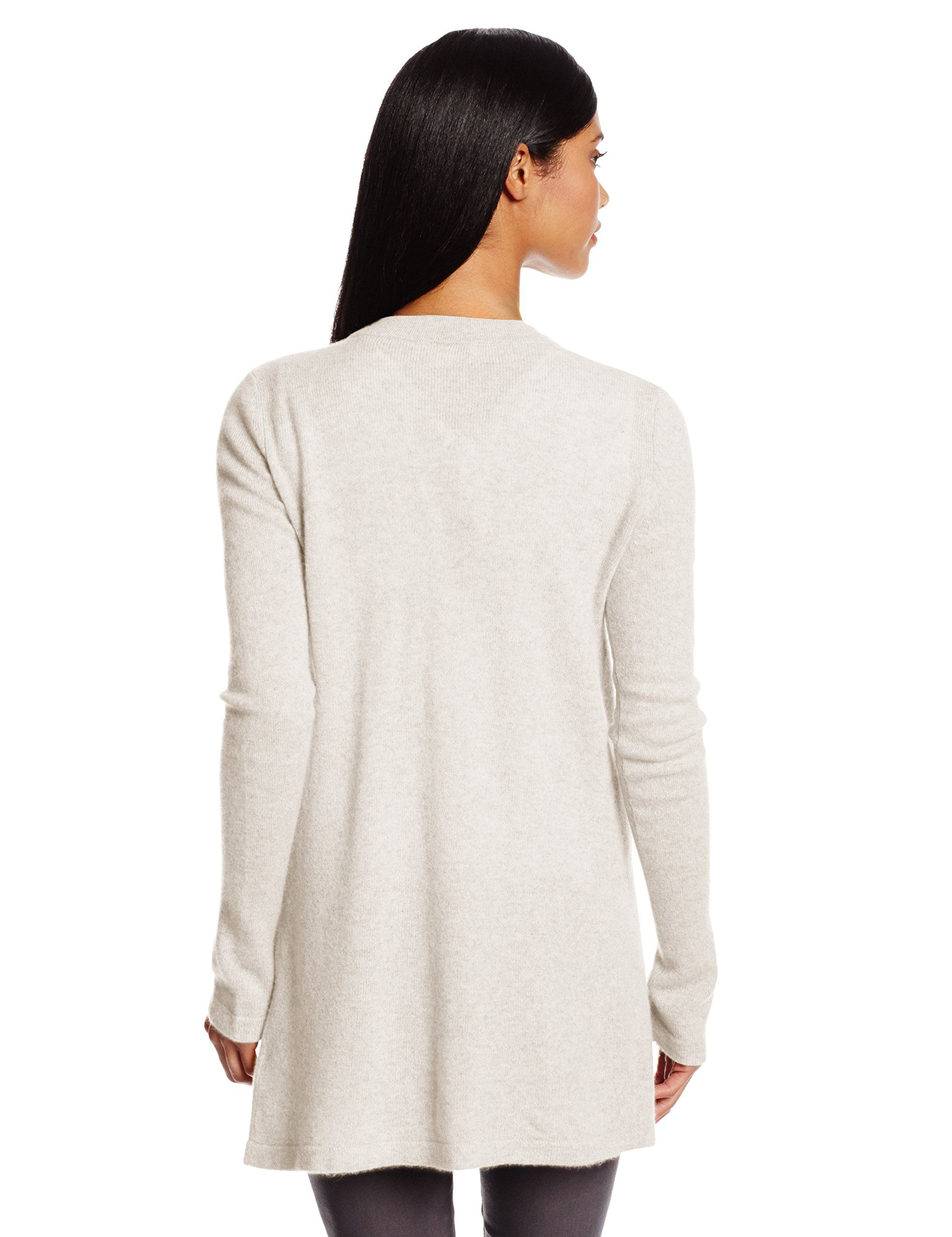 Christopher Fischer Women's 100% Cashmere Open Front Cardigan ...