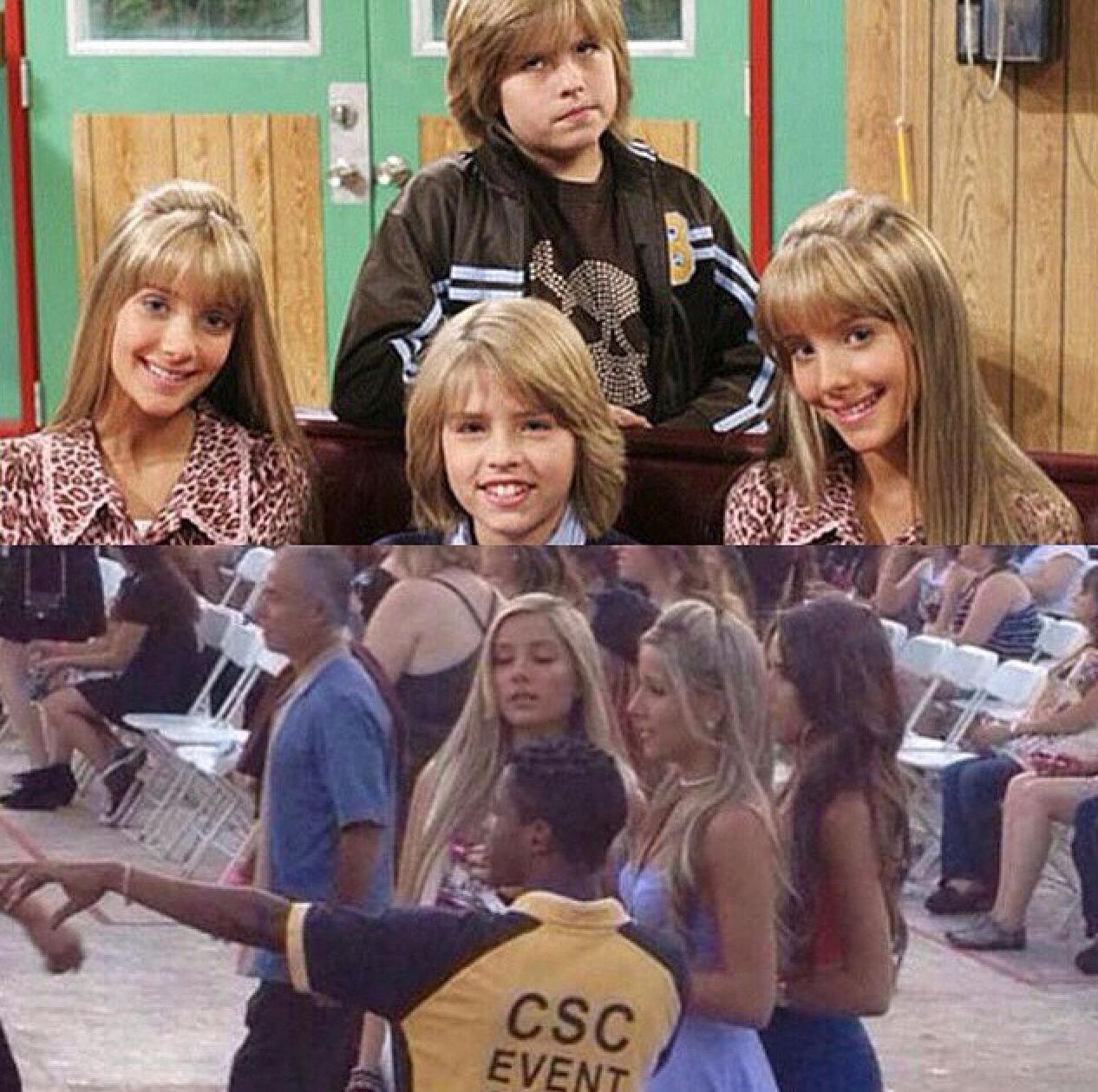 Were there last night (With images) Zack and cody cast