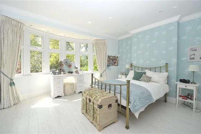 beautiful blue bedroom #soft #babyblue #naturallight #white