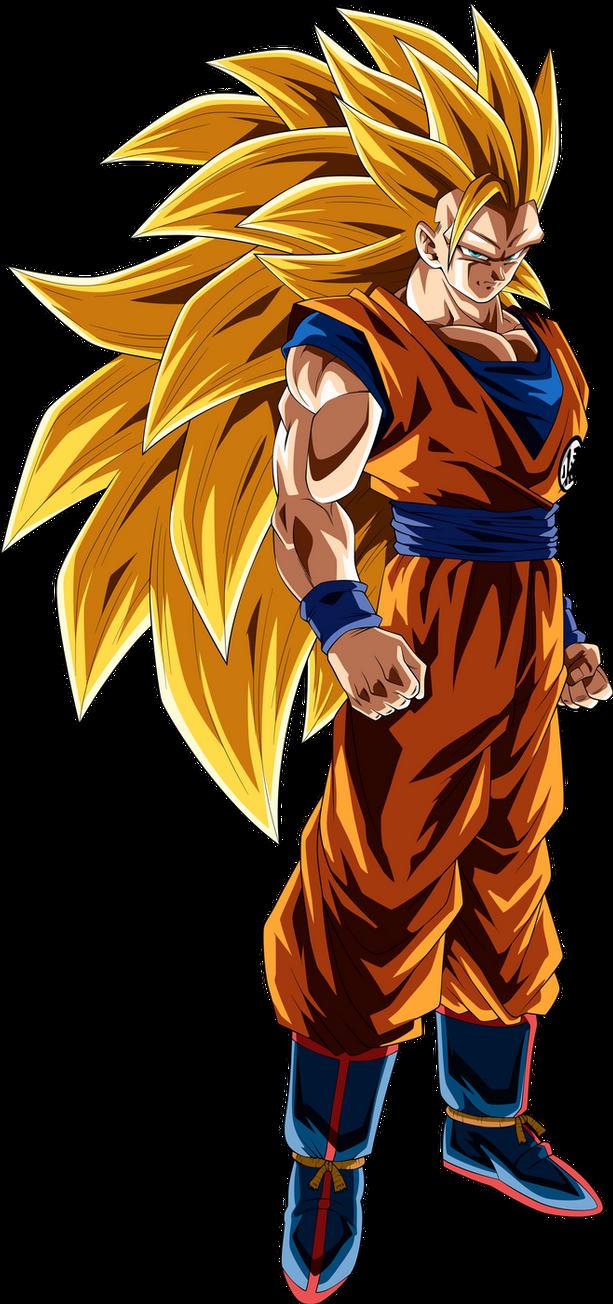 Goku Super Saiyan 3 By Thetabbyneko On Deviantart Goku Super Saiyan Blue Goku Super Saiyan Goku Super