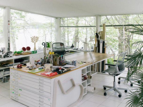 Brilliant Art Studio Design Ideas For Small Spaces (6) Our Hideout