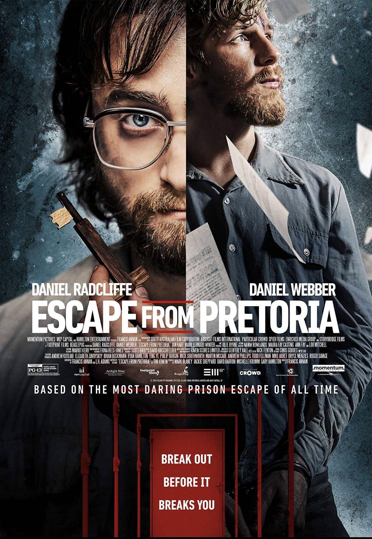 Pin By Fernando Rm On Movie Posters Prison Escape Pretoria Daniel Radcliffe