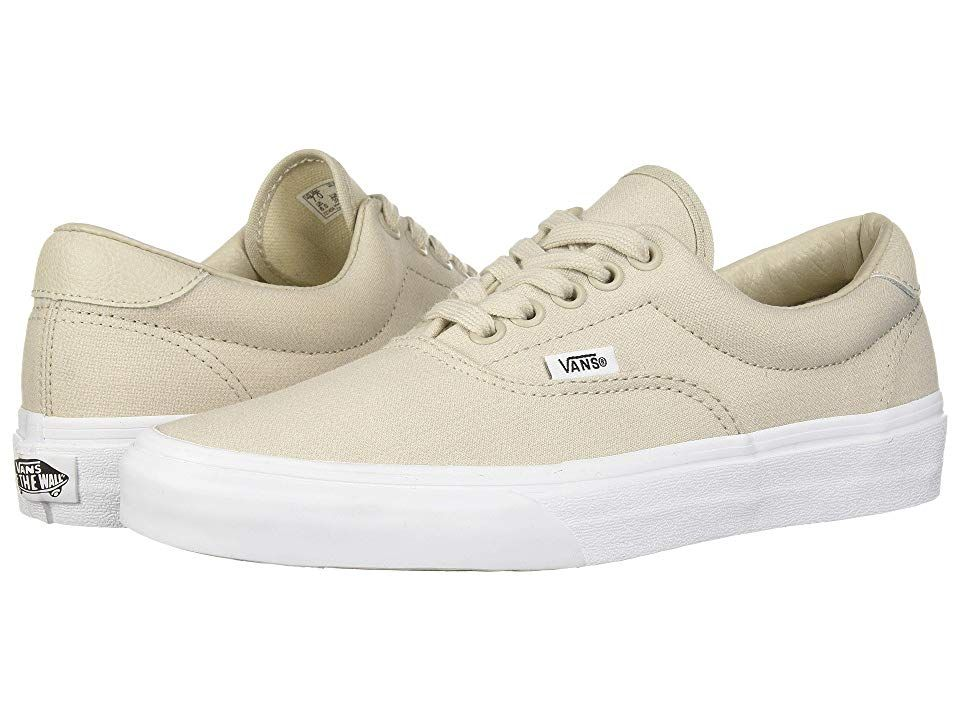 4a4d48025fe74 Vans Era 59 ((Suiting) Silver Lining/True White) Skate Shoes. The ...