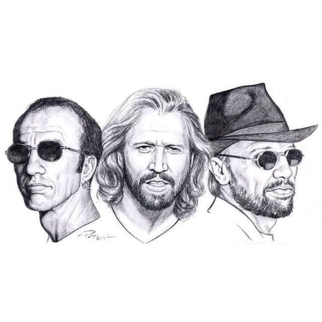 The Beegees Bee Gees Gees Bee