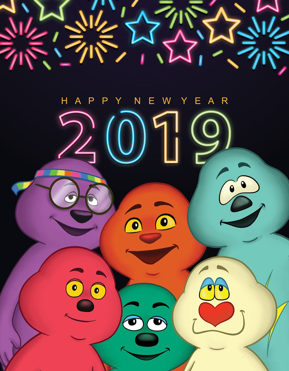 Happy New Year to all our friends. We wish you good health