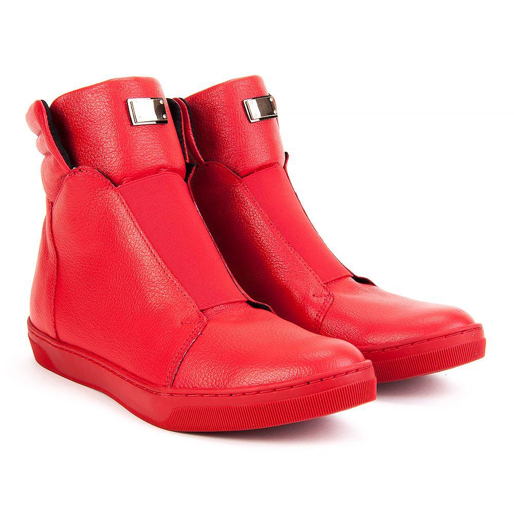 Botki Filippo 2064 Czerwone Botki Na Koturnie Botki Buty Damskie Filippo Pl Boots Red Shoes Shoes