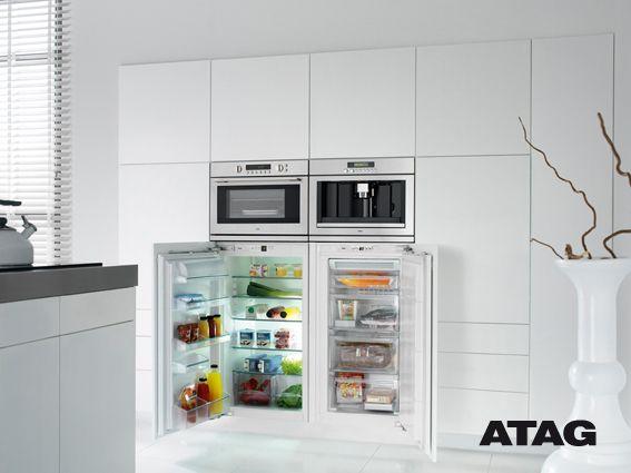 Zoiets moet het worden aparte koelkast en vriezer in - Ikea kitchenette frigo ...