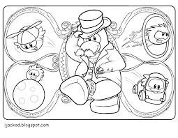 Club Penguin Coloring Pages Ninja | Club Penguin Coloring Pages ...