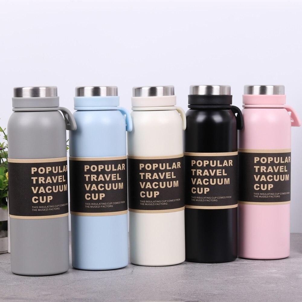 ZOOOBE 500/350ML Thermos Coffee Milk Bottle Vacuum Flask