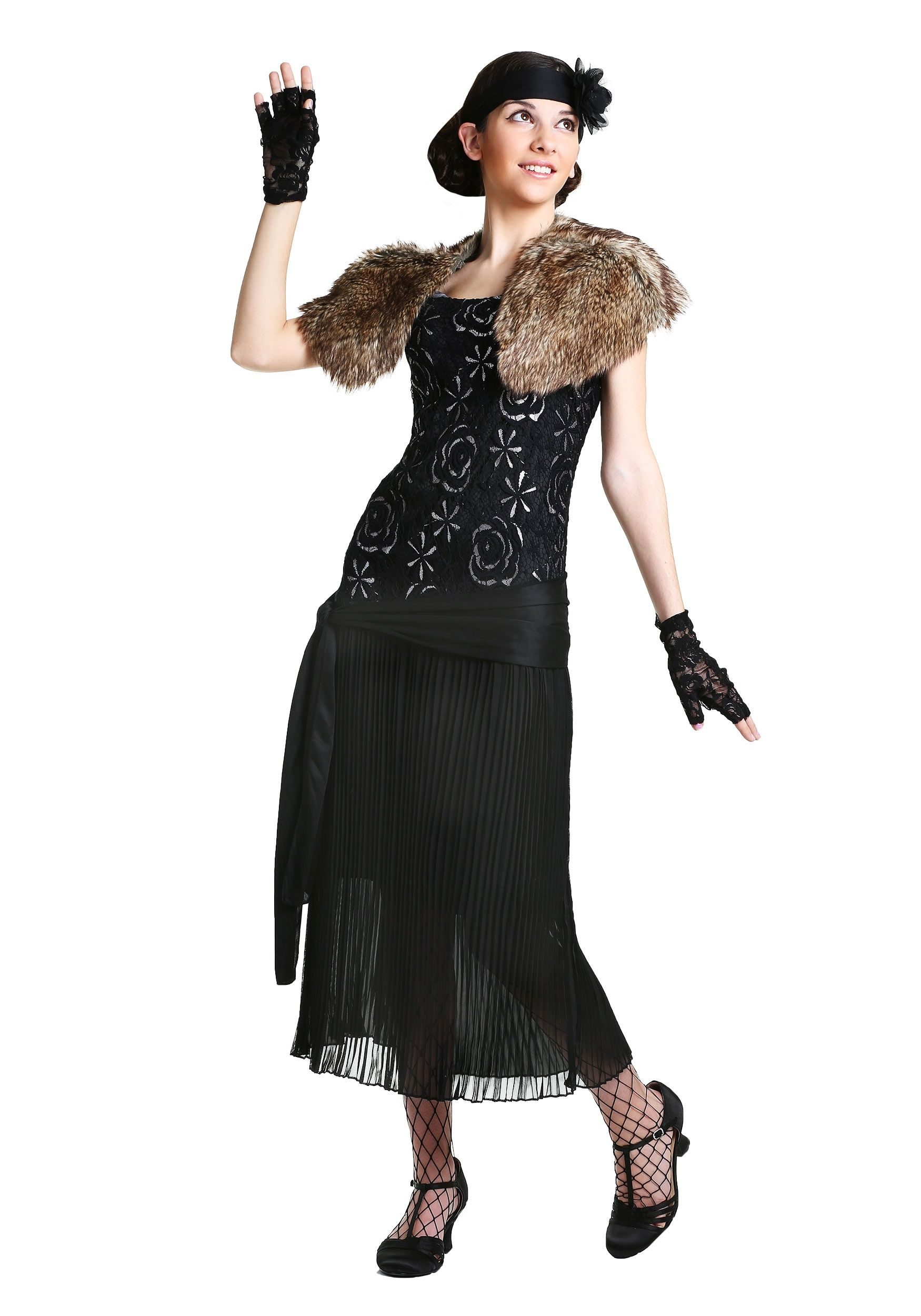6f8bf62f7df Charleston Flapper Costume in Women s Plus Size