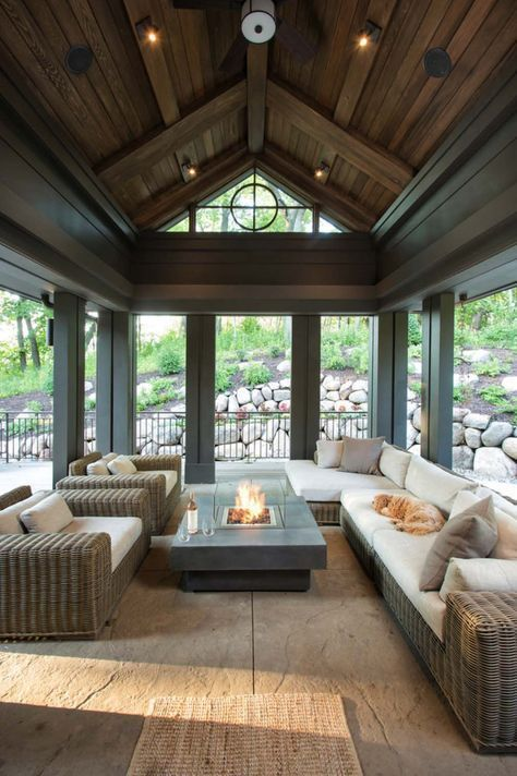 Screened Porch Design Ideas-23-1 Kindesign Screened In Porches in
