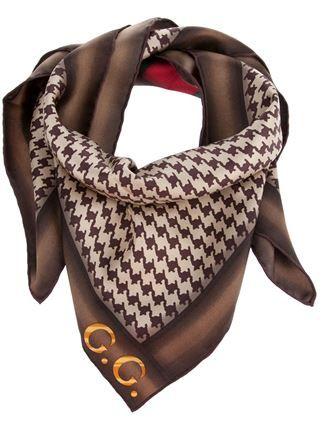 936d868b6 Gucci Houndstooth Scarf - - Farfetch.com | My Style in 2019 | Gucci ...