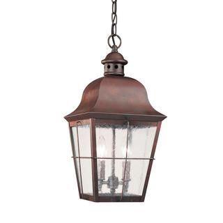 Sea Gull Chatham 2 Light Silver Outdoor Fixture