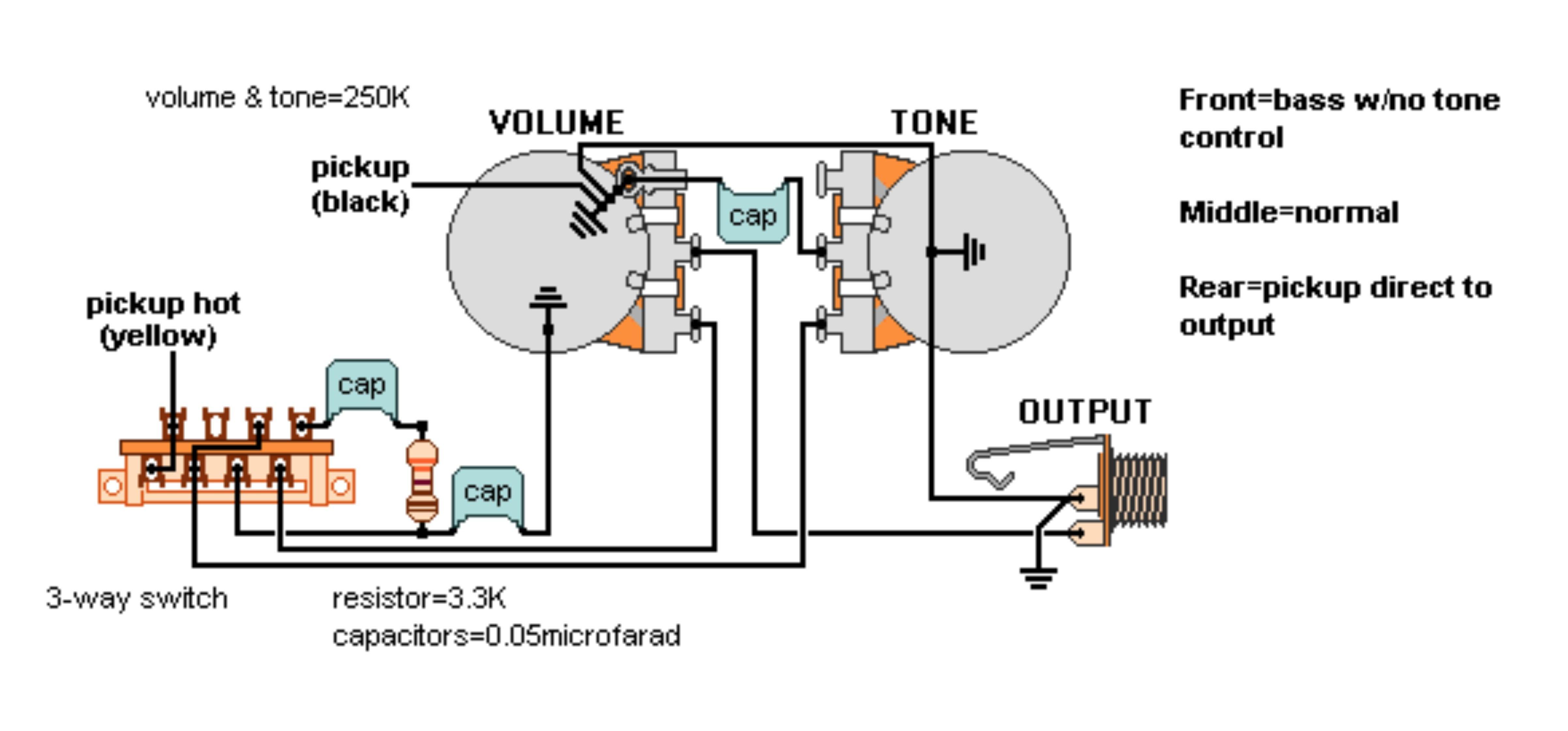 Push Pull Pot Wiring Diagram New Di 2020