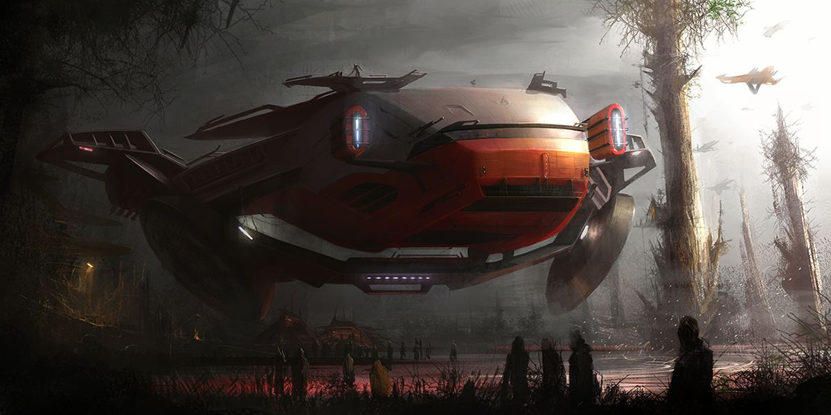starwars jungle vehicle by MatiasMurad.deviantart.com on @deviantART
