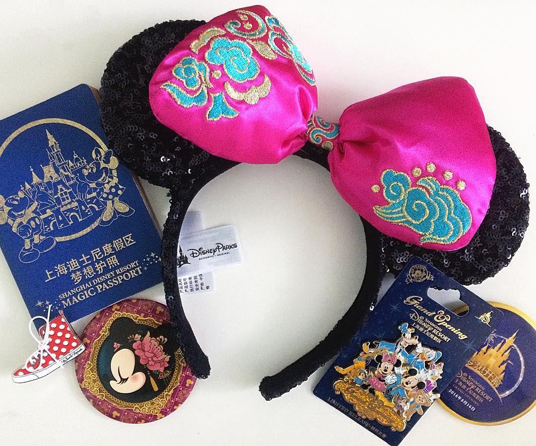 9e91130558574 Shanghai Disneyland ears / earstodisneyland | Disney Inspiration in ...