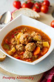 Przepisy Aleksandry Sulu Kofte Turecka Zupa Z Pulpecikami Zupy