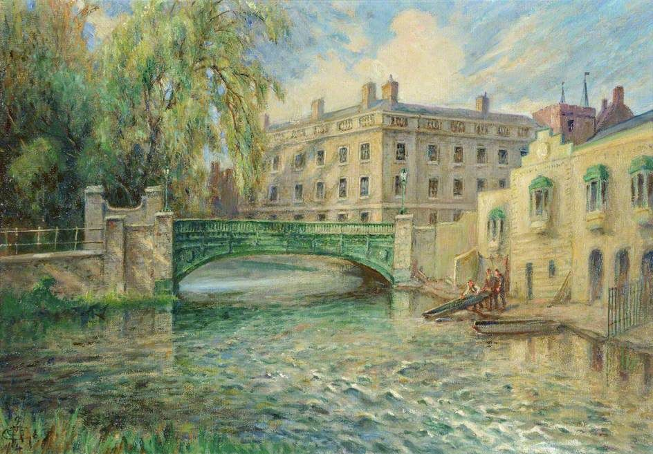 Essex Building from a Mill by C. C. M. http://www.bbc.co.uk/arts/yourpaintings/paintings/essex-building-from-a-mill-194623