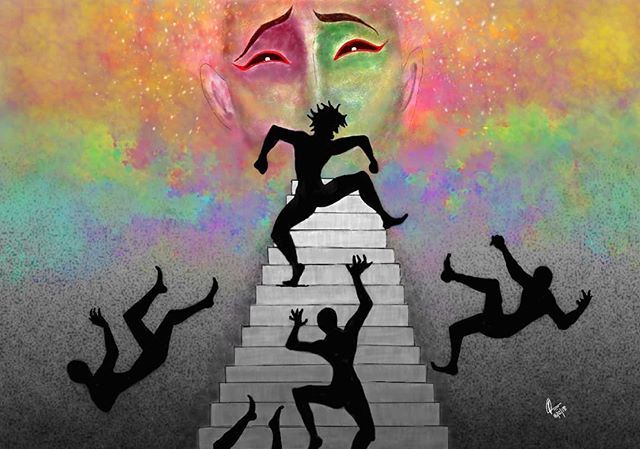 Reposting @acharyapickle: Karl  #geometry #abstractporn #symmetry #psychedelic #instalove #pursuepretty #colourpop #abstractexpressionism #xppentablet #doitfortheprocess #illustratorsoninstagram #artgallery #tattoo #gallery #instaart #artforsale #artist #inspiration #artdealer #instagramhub #design #womenwhodraw #calledtobecreative #studioscenes #storytelling #artlife #illustration #artistsoninstagram #mystic #hasisimile