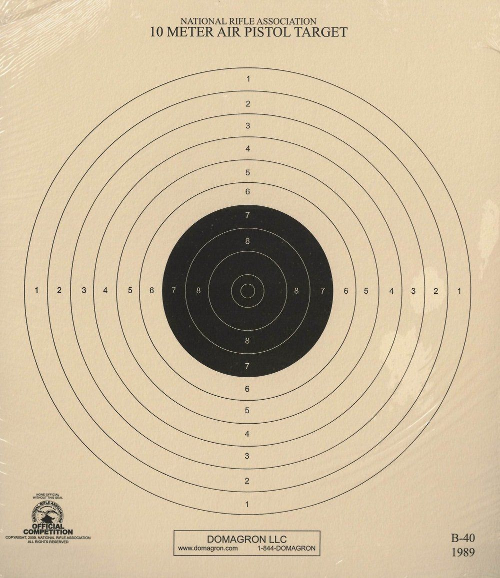 It's just a picture of Nra B-8 Target Printable with pistol nra instructor