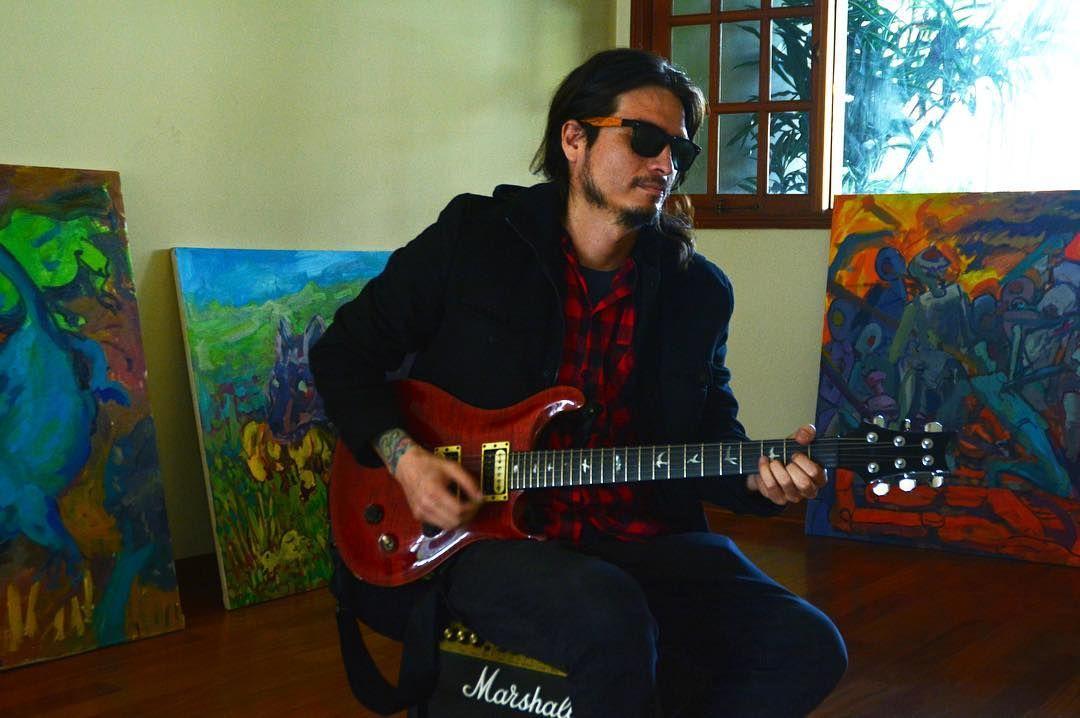 ArteSano ������photo: Aldo Mazzini #lima #sudamericanrockers #nikon #rock #producer #prs #guitar #art #marshallamps #peru #feelin #�� http://misstagram.com/ipost/1548262523218905005/?code=BV8iI_Tg0et