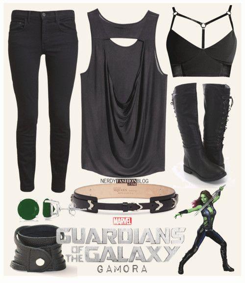 Gamora   Guardians of the Galaxy   Marvel by chelsealauren10
