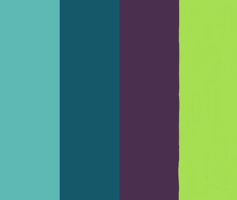 Our Peacock Color Palette Love These Colors Want This Color Palette