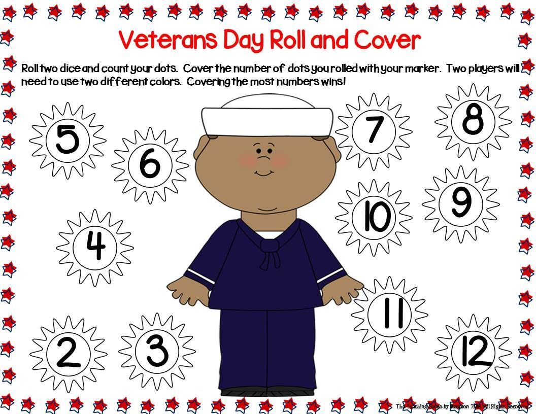 Veterans Day Unit Activities Amp Centers