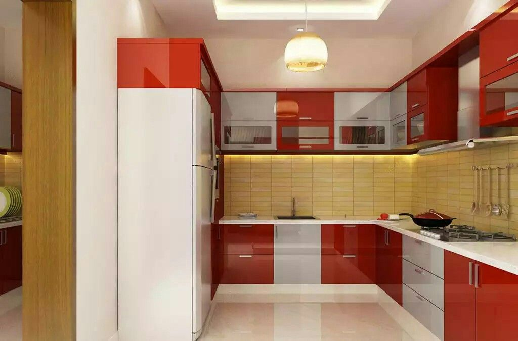 This Is A Modern Indian Kitchen. India Has A Variety Of Places, And Housing  So Thereu0027s Many Styles Of Kitchens. This Would Be An Example Of A Modern  Kitchen ...
