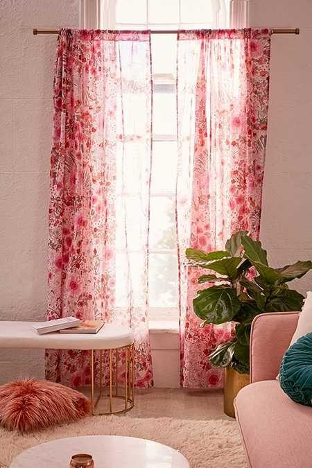 Lovise Floral Window Curtain | HOME: DECOR & ORGANIZATION ...