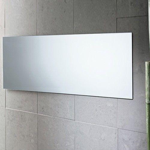 Planet horizontal flat vanity mirror vanities bath and for Espejo horizontal salon