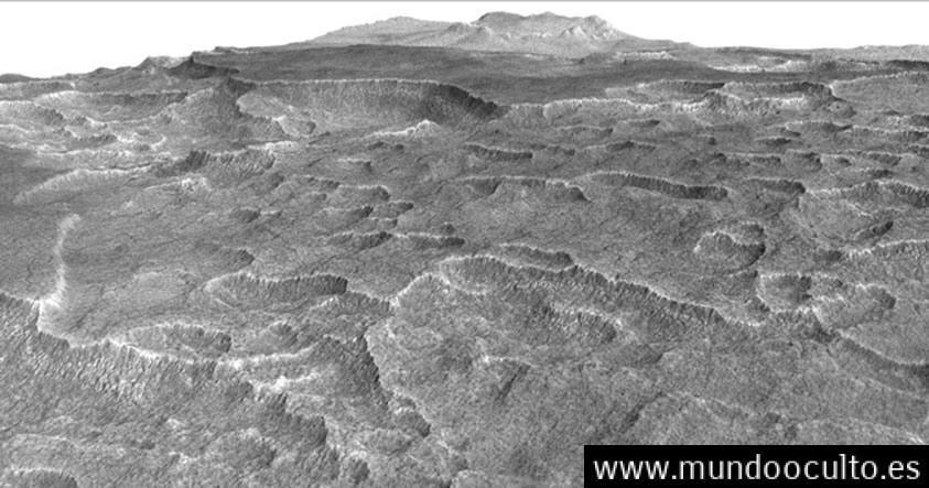 Hallan bajo el suelo de #Marte un depósito de hielo de agua más grande que Nuevo México según un estudio reciente de la #NASA