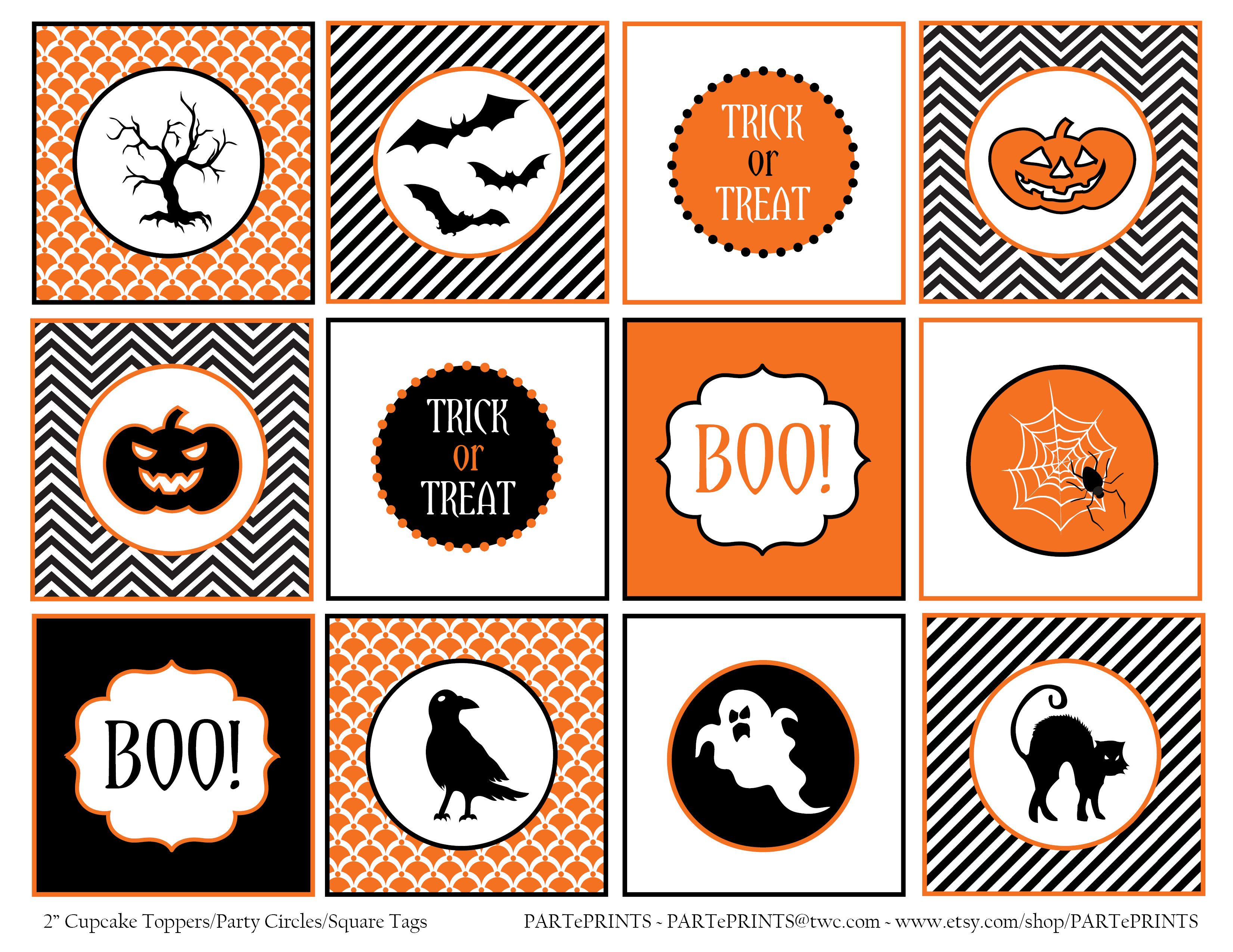 Free Halloween Printables From Parteprints