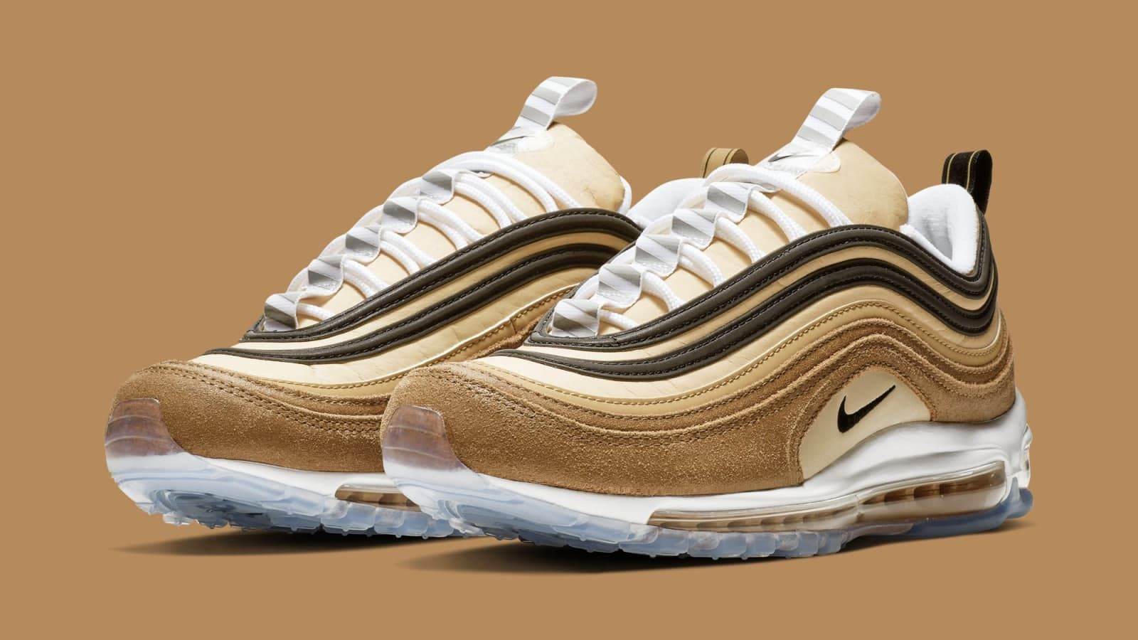 sneakers for cheap 11f5d ba9aa Nike Air Max 97  Ale Brown Black-Elemental Gold  921826-201 Release Date    Sole Collector