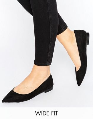 Pointed ballet flats, Shoes
