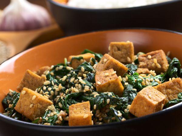 Low-Calorie Recipe: Methi Tofu