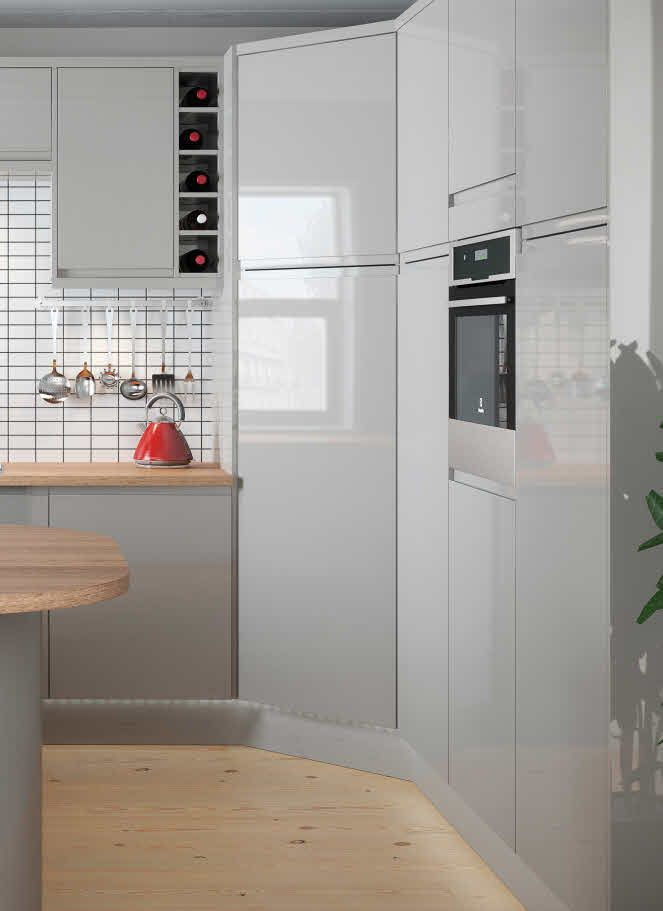 Mrs Weston wanted a pantry in her new kitchen but the modern ...