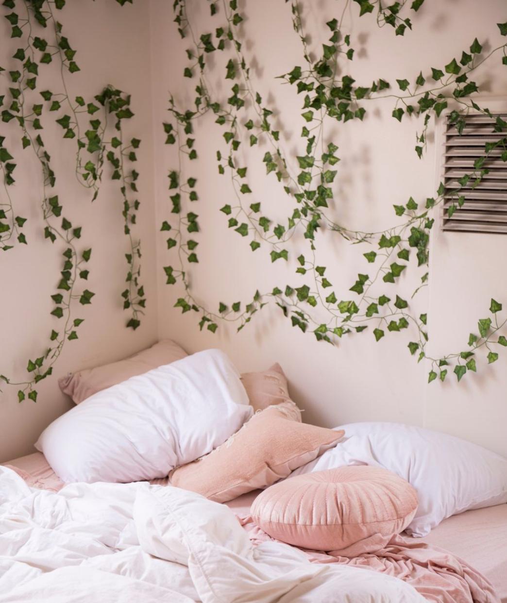 Decorative Vines Set In 2021 Redecorate Bedroom Bedroom Decor Inspiration Room Inspiration Bedroom