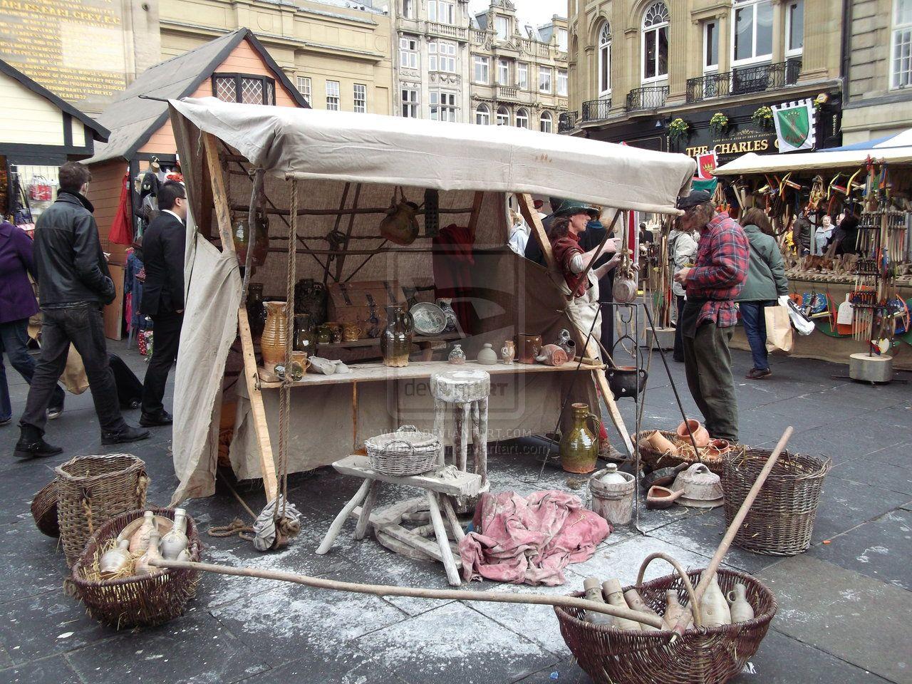 Parada Medieval Medieval Stall Pinterest Medieval