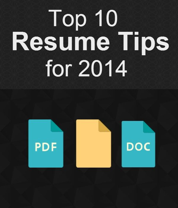 top 10 resume tips writing